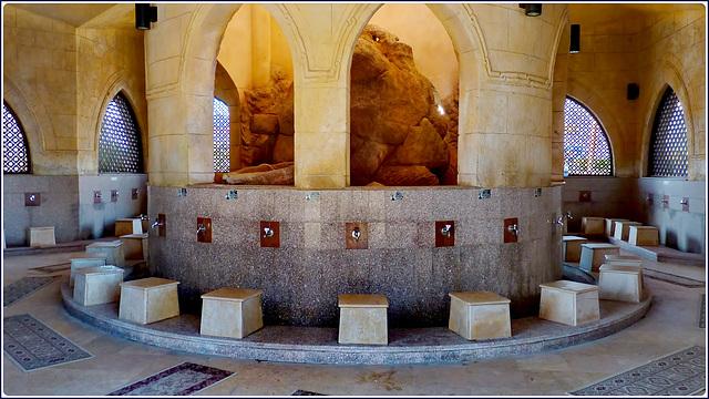 Sharm el Sheikh : il rito del lavaggio dei piedi all'interno della moskea