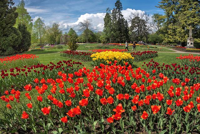 Parc de l'Indépendance de Morges (Suisse)