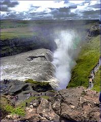 GULFOSS WATERFALL  - Iceland -  (548)