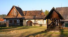 Skanzeno Veselý kopec - domo el Široký Důl ĉe Polička
