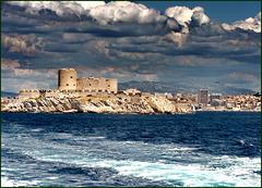 Landscape with Clouds - SPC 03/2018 - 4° place - Ile d'If, Marseille.