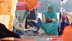 Les Sahraouis dans le nord .....
