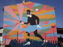 Mural by Al.