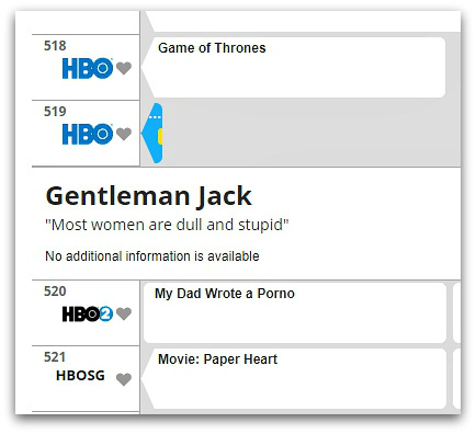 What's on HBO tonight?
