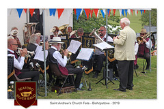 Seaford Silver Band St Andrew's Fete 2019 c