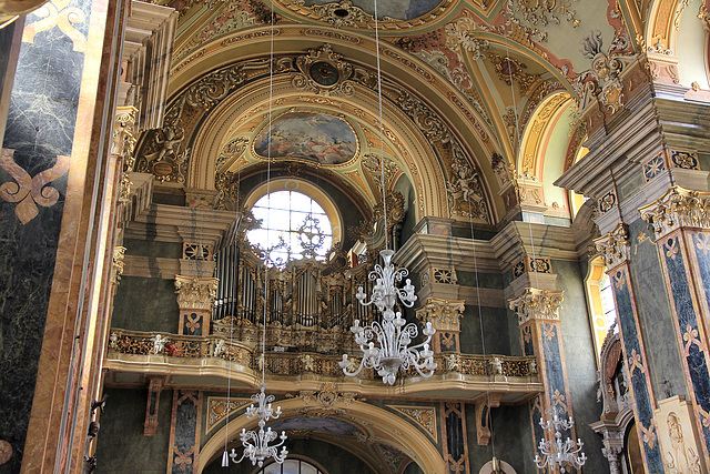 Orgel im Brixener Dom