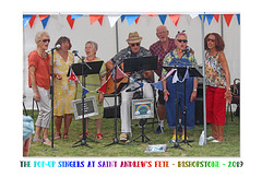 Pop-Up Singers St Andrew's Fete 2019 a