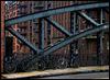 Three Bikes And A Bridge
