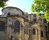 Le chevet de la cathédrale de Valence