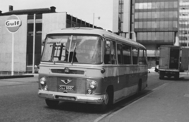 Brown's of Donnington Wood CUJ 956C in Manchester - Jun 1972
