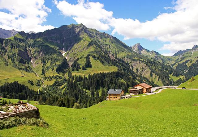 Bergwelt in Vorarlberg