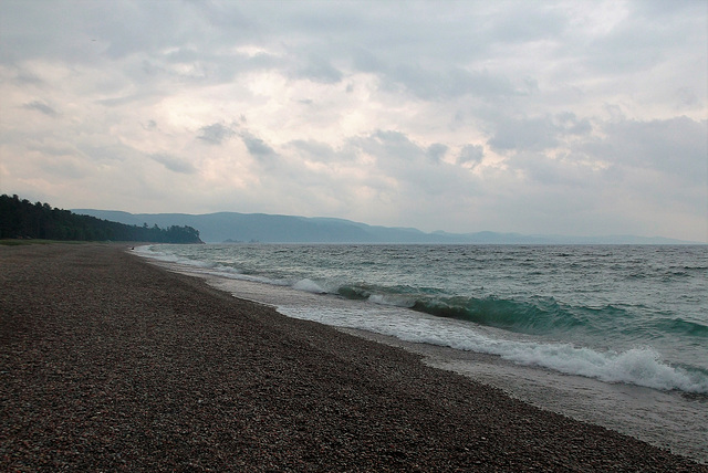Plage granuleuse / Gritty beach