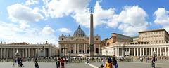 Rome - place et basilique Saint-Pierre