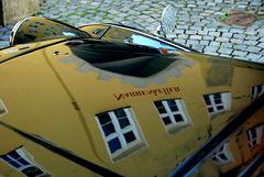 Narrenkeller auf der Motorhaube