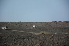 Ethiopia, on the Way through the Lava Fields of the Erta Ale Range