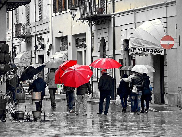 Regenschirme - Ombrelli