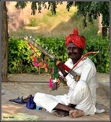 """Street Musician"" - Jodhpur - Rajasthan - INDIA"