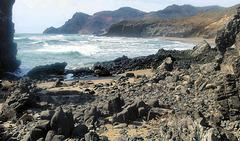 Cabo de Gata - Costa volcanica