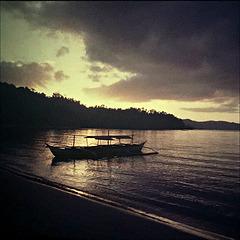 Dawn in Burma.