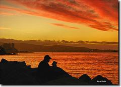 Atardecer en Viña del Mar - Chile