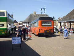 DSCF1968 Preserved B503 FFW (Lincolnshire RCC) and JIL2795 (XDL 800L) (Pennine MS) - Fenland Busfest - 20 May 2018
