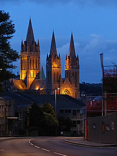 Truro Cathedral by Night - 8 July 2015