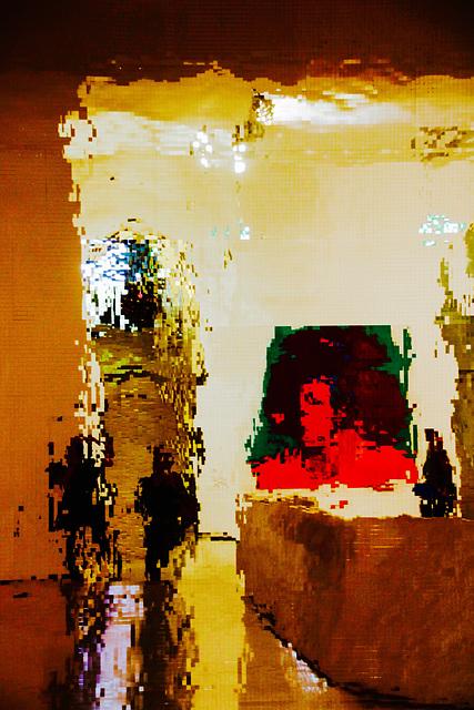 Beate, Goethe and me: A Selfie in the Städel-Museum, Frankfurt