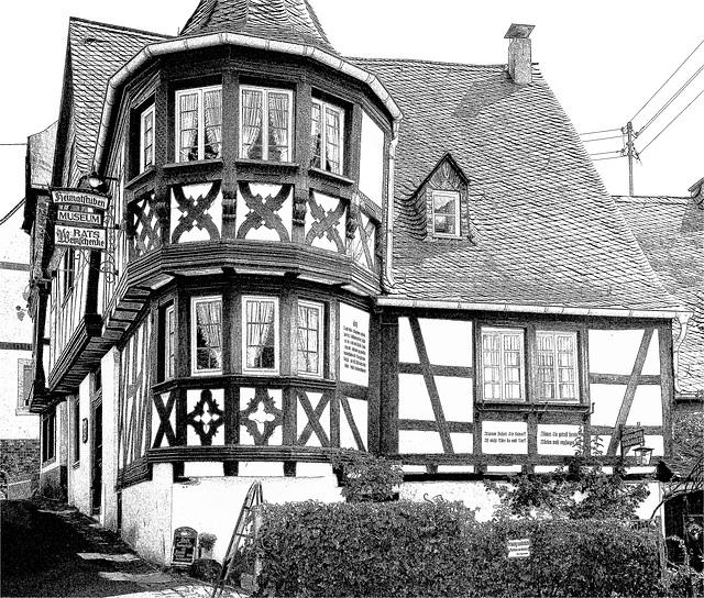 Fachwerkhaus in Enkirch