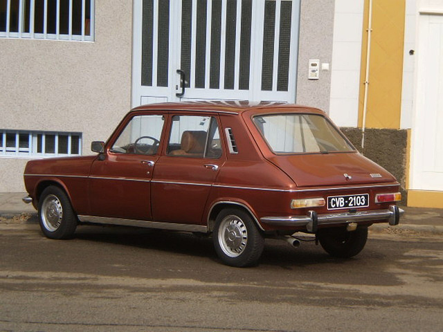 Simca 1100 (late 1960's or early 1970's).