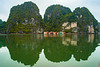 Fisher village in Halong bay