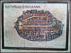Jerusalén: mosaico
