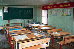School room on a floating village