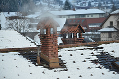 Schruns, Roofs and Chimneys