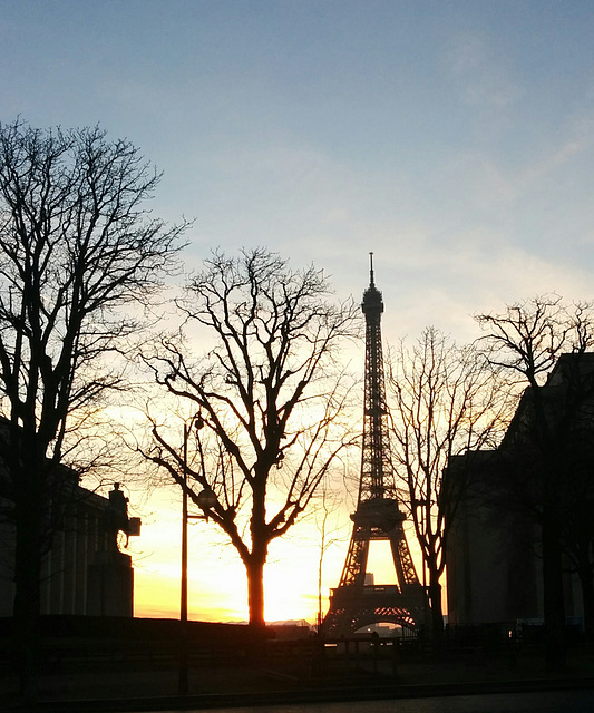 Paris s'éveille/ Morning glow in Paris