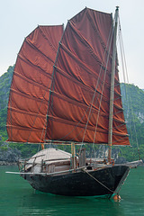 Junk in the Halong bay