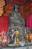 Trán Vu statue in Quán Thánh Temple