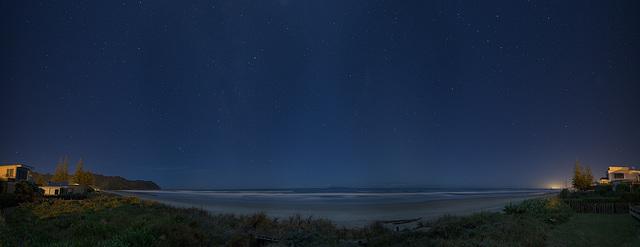 Ignorance is Bliss- Waihi Beach under moon light
