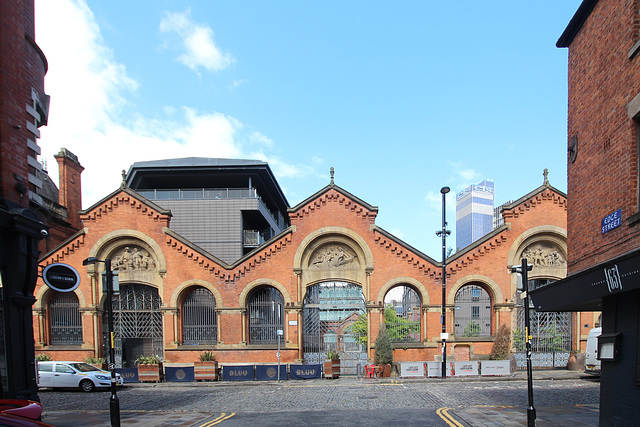 Former Wholesale Fish Market, High Street, Manchester From Edge Street