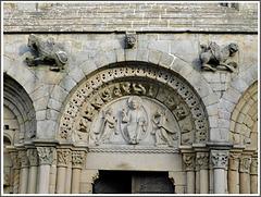 Détail de la basilique Saint Sauveur à Dinan