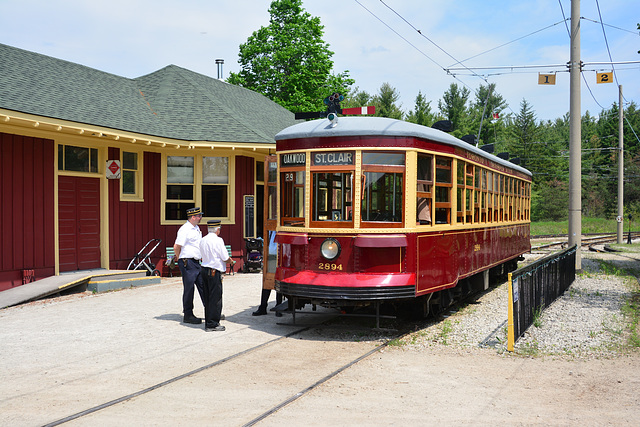 Canada 2016 – Halton County Radial Railway – Peter Witt car
