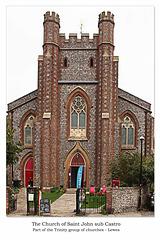 St John sub Castro south end Lewes 8 9 2018