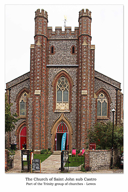 St John sub Castro south end Lewes 8 9 2018