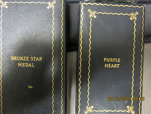 Bronze Star - Purple Heart cases