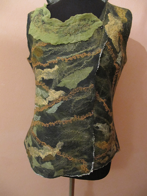 felted blouse