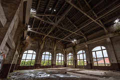 Coal mine du Gouffre - Eastern Machine Hall - 28