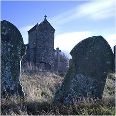 St Illtyd Churchyard.