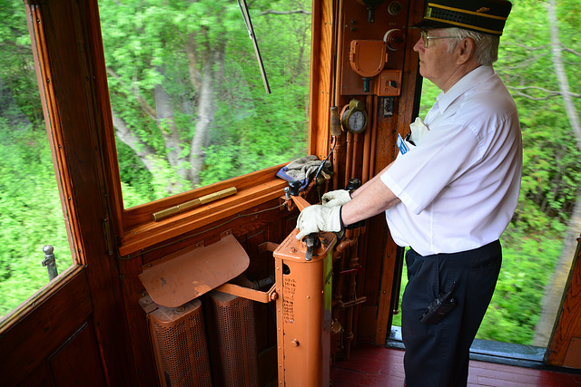 Canada 2016 – Halton County Radial Railway – Operating the London & Port Stanley Railway № 8
