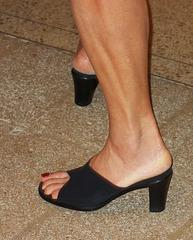 wife in onex heels