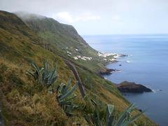 View to Eirinhas Point and Maia.