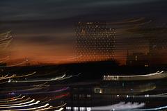 Skyline am Hafenrand (2xPiP)